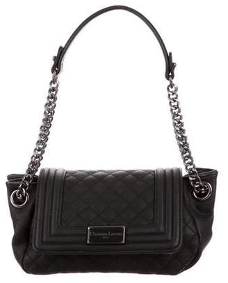 Christian Lacroix Quilted Leather Shoulder Bag