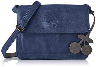 Le Temps Des Cerises Women's LTC3V69 Cross-Body Bag Blue