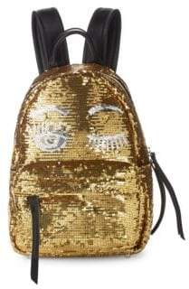 Chiara Ferragni Sequin Flirt Backpack