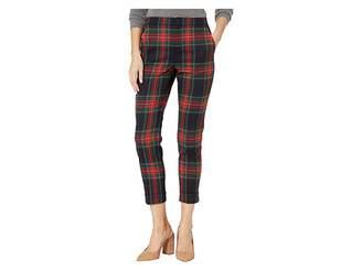 Lauren Ralph Lauren Petite Tartan Skinny Crop Pants
