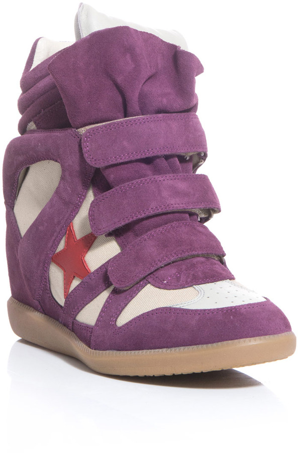 Isabel Marant Bayley wedge sneakers