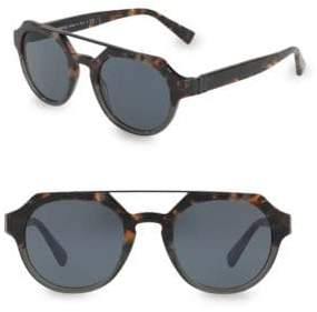 Dolce & Gabbana 48MM Aviator Sunglasses
