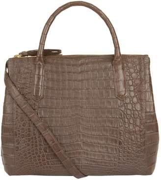 At Harrods Nancy Gonzalez Nix Crocodile Double Zip Tote Bag