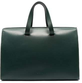 Aesther Ekme - Barrel Leather Bag - Womens - Dark Green