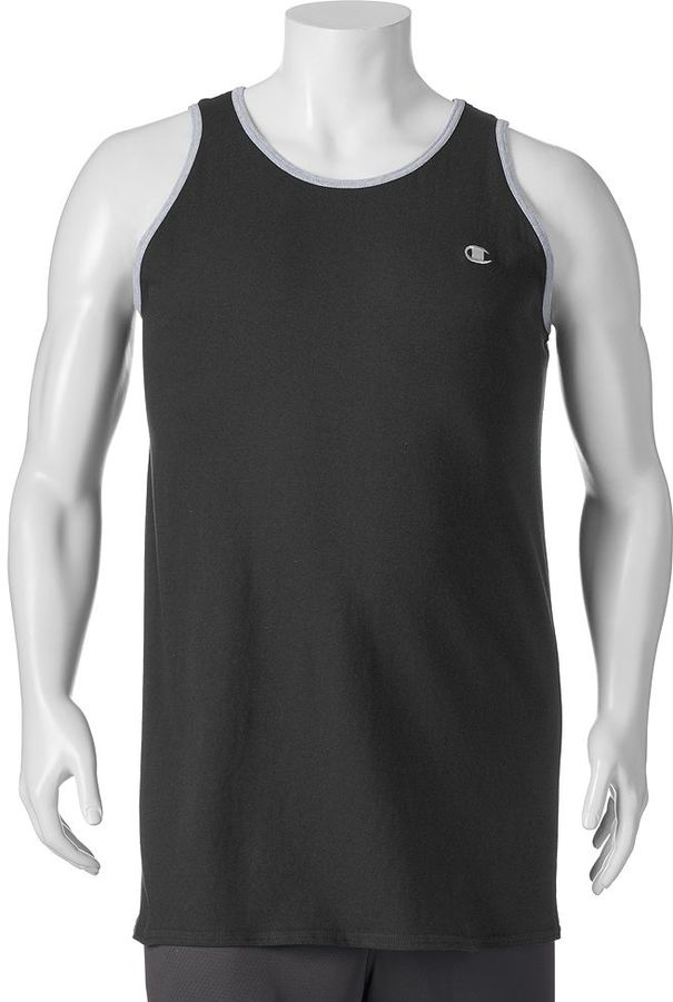 Big & Tall Champion Ringer Tank Top