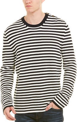 Gucci Striped Cotton Crewneck Sweater
