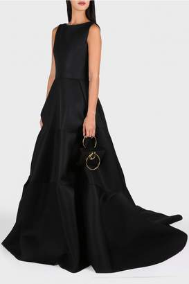 Maticevski Morality Sleeveless Layered Gown