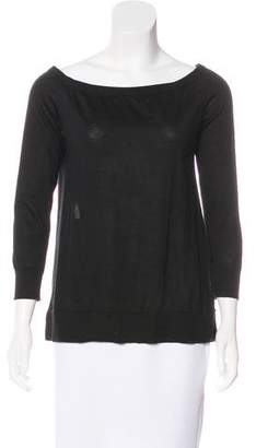Marc Jacobs Cashmere & Silk-Blend Top