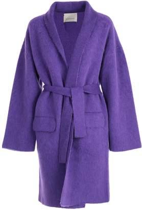 Laneus Belted Cardigan Coat