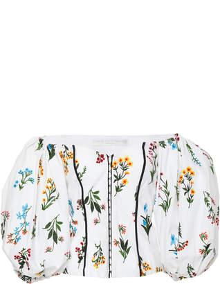 Caroline Constas Belen Floral Blouse