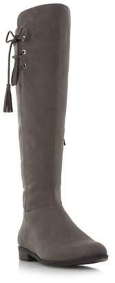 Roberto Vianni Grey 'Teral' Tassel Knee High Boot