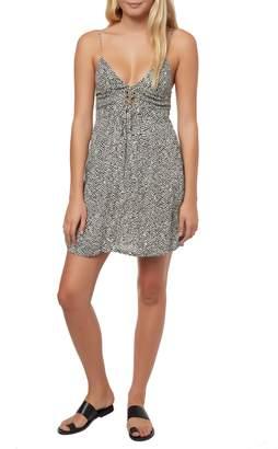 O'Neill Brida Lace-Up Dress