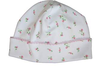 Kissy Kissy Baby Girls Garden Roses Print Hat