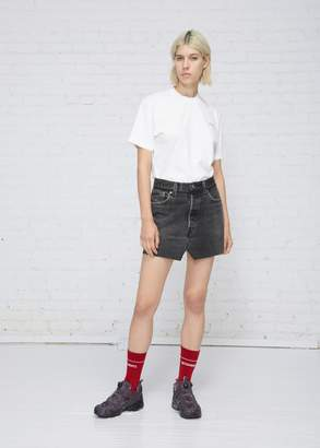 Vetements Jean Mini Skirt