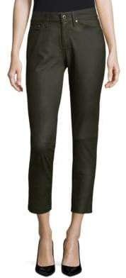 AG Jeans Leather Skinny Pants