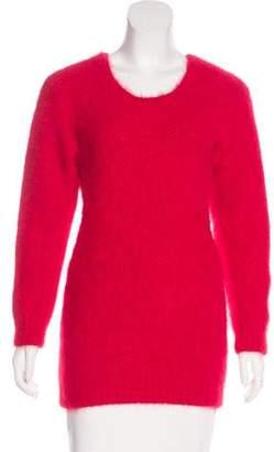 Saint Laurent Angora-Blend Sweater