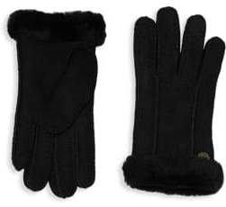 ... UGG Perforated Shearling Gloves