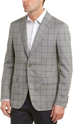 Pal Zileri Window Pane Wool Sport Coat