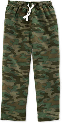 Carter's Big Boys Camo-Print Pajama Pants