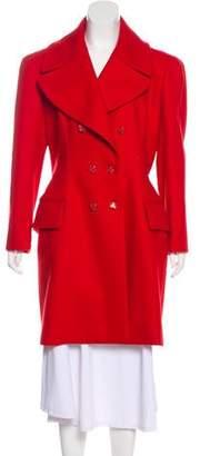 Alexander McQueen Virgin Wool-Blend Coat