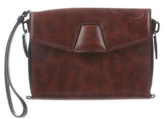 Alexander Wang Printed Leather Lydia Clutch brown Printed Leather Lydia Clutch