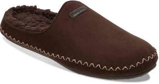 Dearfoams Faux Suede Scuff Slipper - Men's