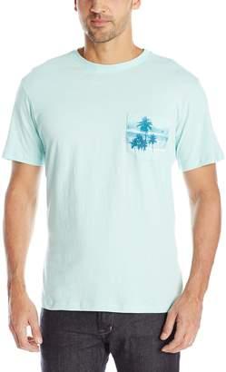 Margaritaville Men's Short Sleeve Floats Boat Pocket T-Shirt