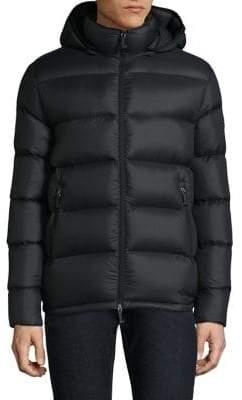 Moose Knuckles Long-Sleeve Down-Filled Jacket
