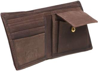 YETI REAL LEATHER COLLECTION Leather Wallet with Change Pocket
