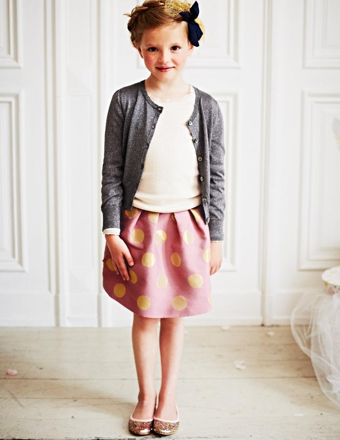 Boden Brocade Party Skirt