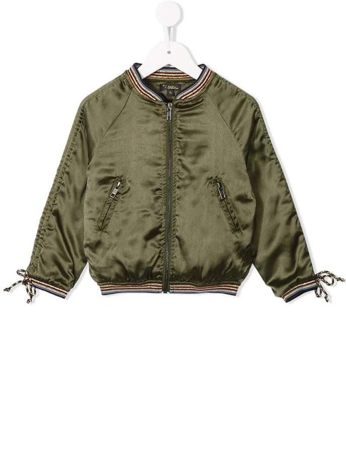 Velveteen Jacob bomber jacket