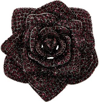 Joan Rivers Classics Collection Joan Rivers Lavish Pave' Rose Pin