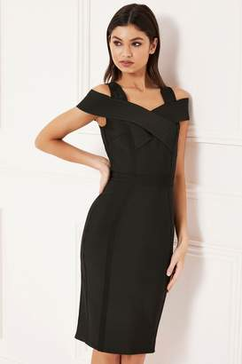 f617c0d289b Lipsy Of The Shoulder Dress - ShopStyle UK