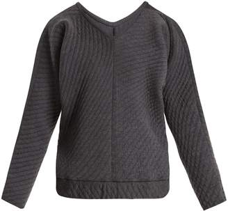 Charli COHEN On The QT quilted wool-blend sweater