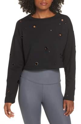 Alo Cadence Crop Sweatshirt