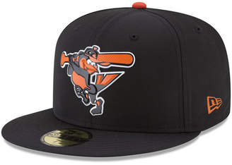 New Era Boys' Baltimore Orioles Batting Practice Prolight 59FIFTY Fitted Cap
