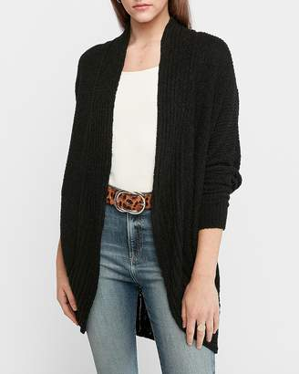 Express Ribbed Cozy Cocoon Cardigan