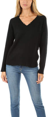 Minnie Rose V Neck Sweater