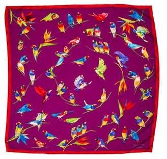 Patek Philippe Printed Silk Scarf