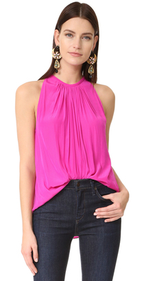 Ramy Brook Sleeveless Piper Blouse $245 thestylecure.com