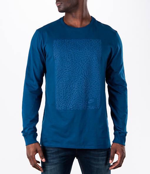 Nike Men's Air Jordan Retro 3 Long-Sleeve T-Shirt