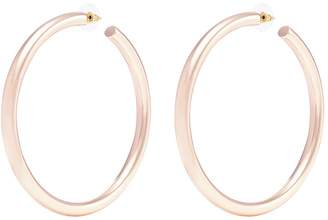 Kenneth Jay Lane 80mm hoop earrings