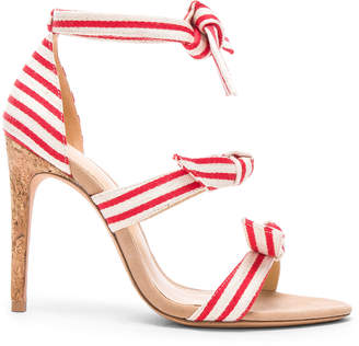 cbd32508b ... Alexandre Birman Lolita 100 Canvas Sandals