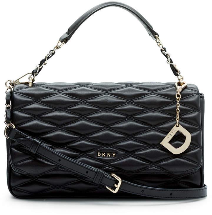 Dkny Lara Small Flap Shoulder Bag, Created for Macy's