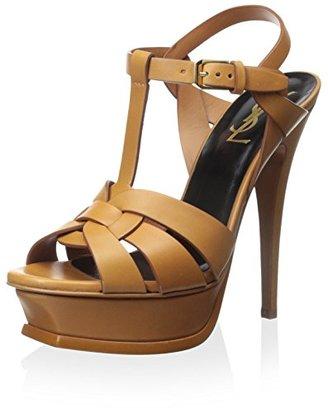 Saint Laurent Women's Classic Tribute Sandal $925 thestylecure.com