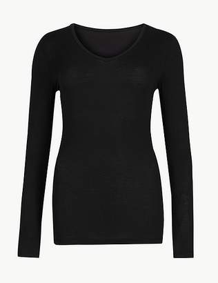 "Marks and Spencer Heatgenâ""¢ Thermal Long Sleeve Top"