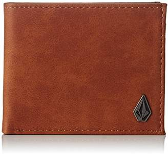 Volcom Men's Slim Stone Pu Wallet Accessory