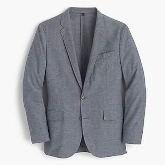 J.Crew Ludlow Slim-fit unstructured suit jacket in cotton-linen