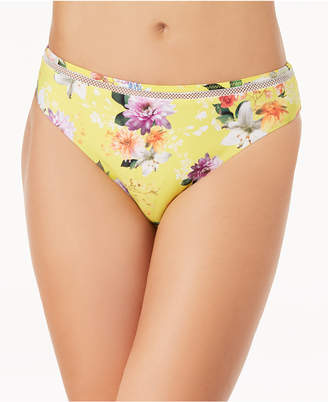 Nanette Lepore Monaco Bouquet Printed Hipster Bikini Bottoms Women's Swimsuit