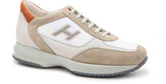 Hogan Suede Retro Sneaker - Men's